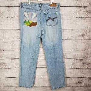 LRG Geans Men's 100% Cotton Jeans 42 x 33 5-Pocket